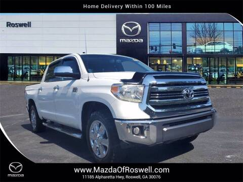 2016 Toyota Tundra for sale at Mazda Of Roswell in Roswell GA