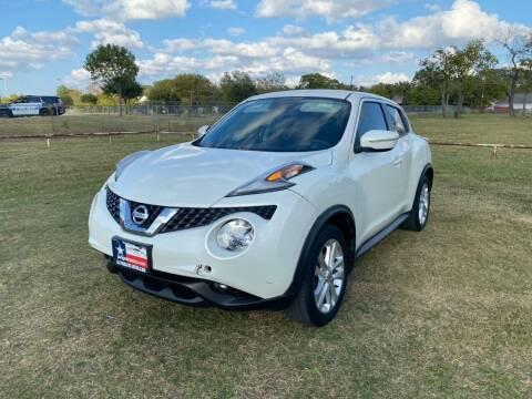 2015 Nissan JUKE for sale at LA PULGA DE AUTOS in Dallas TX