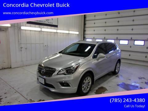 2017 Buick Envision for sale at Concordia Chevrolet Buick in Concordia KS