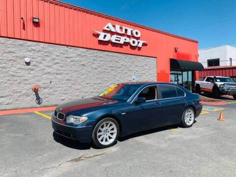 2002 BMW 7 Series for sale at Auto Depot of Madison in Madison TN