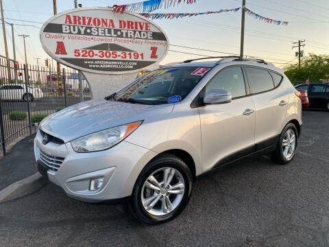 2013 Hyundai Tucson for sale at Arizona Drive LLC in Tucson AZ