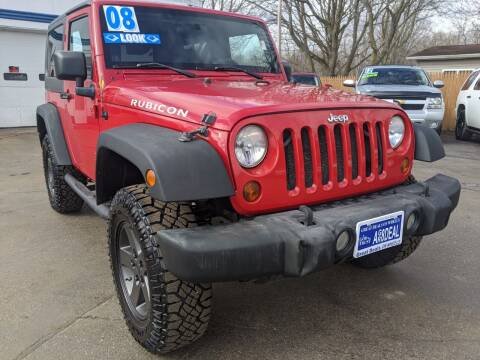 2008 Jeep Wrangler for sale at GREAT DEALS ON WHEELS in Michigan City IN
