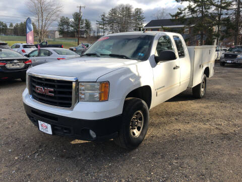 2009 GMC Sierra 3500HD CC for sale at Winner's Circle Auto Sales in Tilton NH