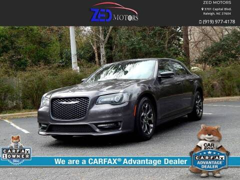 2018 Chrysler 300 for sale at Zed Motors in Raleigh NC