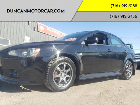 2012 Mitsubishi Lancer for sale at DuncanMotorcar.com in Buffalo NY