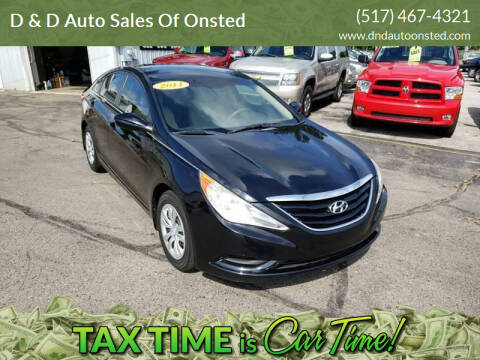 2011 Hyundai Sonata for sale at D & D Auto Sales Of Onsted in Onsted   Brooklyn MI