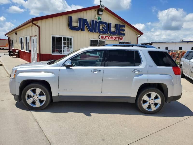 """2014 GMC Terrain for sale at UNIQUE AUTOMOTIVE """"BE UNIQUE"""" in Garden City KS"""