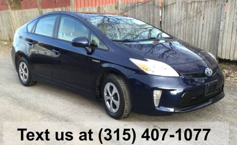 2015 Toyota Prius for sale at Pete Kitt's Automotive Sales & Service in Camillus NY