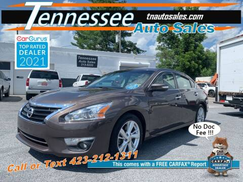 2013 Nissan Altima for sale at Tennessee Auto Sales in Elizabethton TN