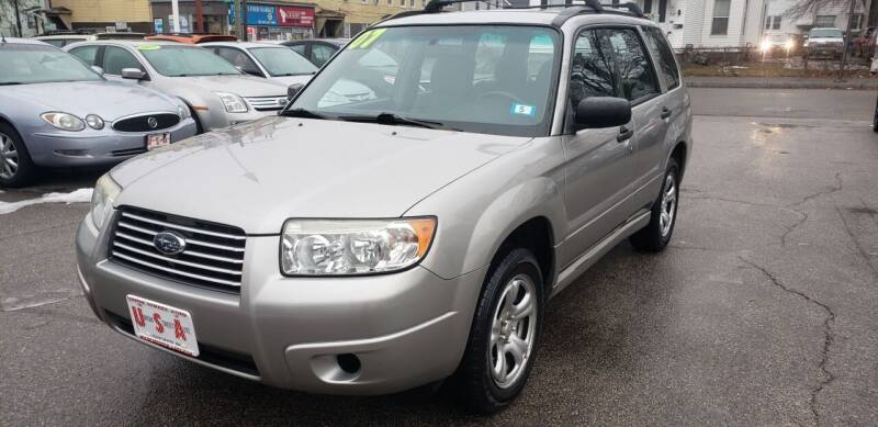 2007 Subaru Forester for sale at Union Street Auto in Manchester NH