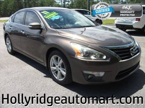 2014 Nissan Altima for sale at Holly Ridge Auto Mart in Holly Ridge NC