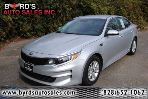 2018 Kia Optima for sale at Byrds Auto Sales in Marion NC