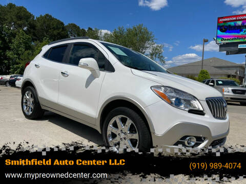 2014 Buick Encore for sale at Smithfield Auto Center LLC in Smithfield NC