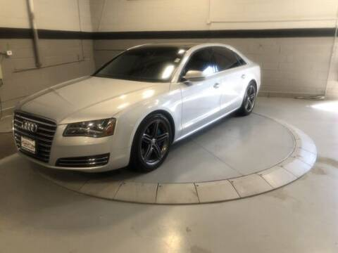 2013 Audi A8 L for sale at Luxury Car Outlet in West Chicago IL