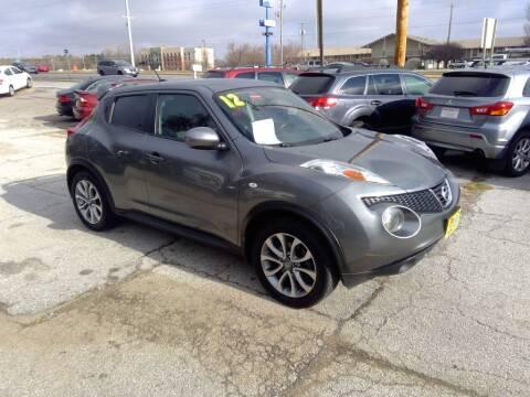 2012 Nissan JUKE for sale at Regency Motors Inc in Davenport IA