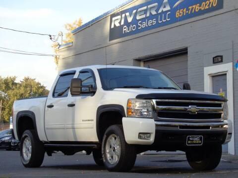 2011 Chevrolet Silverado 1500 for sale at Rivera Auto Sales LLC in Saint Paul MN