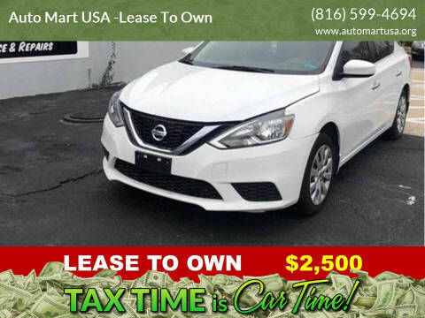 2017 Nissan Sentra for sale at Auto Mart USA -Lease To Own in Kansas City MO