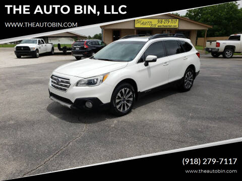 2015 Subaru Outback for sale at THE AUTO BIN, LLC in Broken Arrow OK
