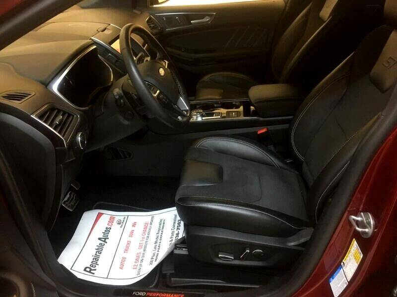 2019 Ford Edge AWD ST 4dr Crossover - Strasburg ND
