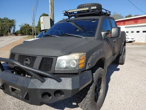 2006 Nissan Titan for sale at VAUGHN'S USED CARS in Guin AL