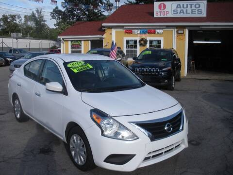2018 Nissan Versa for sale at One Stop Auto Sales in North Attleboro MA