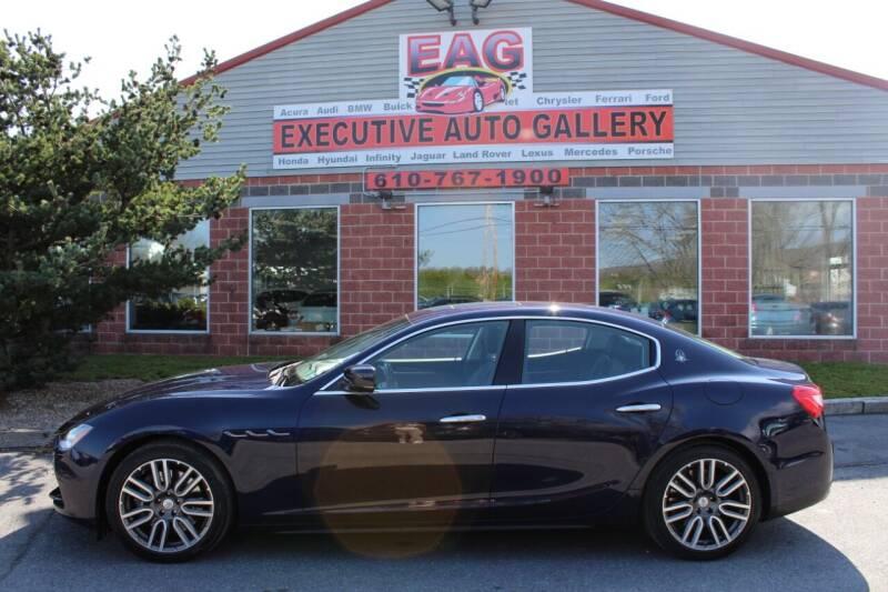 2016 Maserati Ghibli for sale at EXECUTIVE AUTO GALLERY INC in Walnutport PA