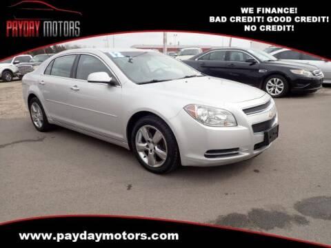 2012 Chevrolet Malibu for sale at Payday Motors in Wichita And Topeka KS
