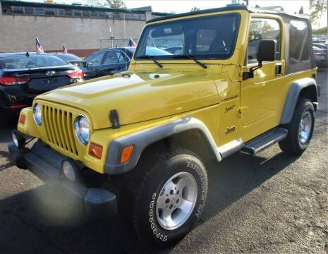 2002 Jeep Wrangler for sale at Exem United in Plainfield NJ