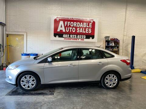 2012 Ford Focus for sale at Affordable Auto Sales in Humphrey NE