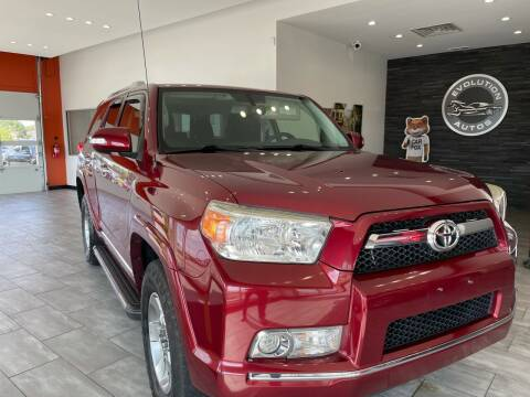 2012 Toyota 4Runner for sale at Evolution Autos in Whiteland IN