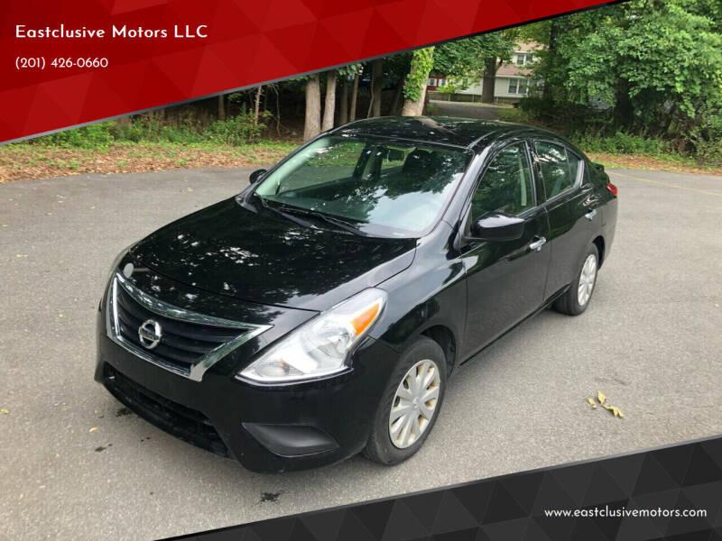 2018 Nissan Versa for sale at Eastclusive Motors LLC in Hasbrouck Heights NJ