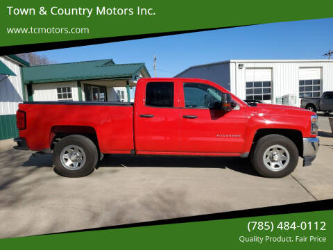 2016 Chevrolet Silverado 1500 for sale at Town & Country Motors Inc. in Meriden KS