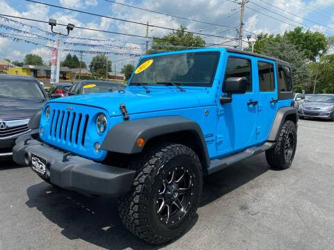 2017 Jeep Wrangler Unlimited for sale at WOLF'S ELITE AUTOS in Wilmington DE