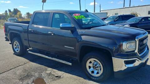 2016 GMC Sierra 1500 for sale at AutoBoss PRE-OWNED SALES in Saint Clairsville OH