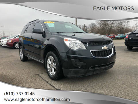 2012 Chevrolet Equinox for sale at Eagle Motors in Hamilton OH