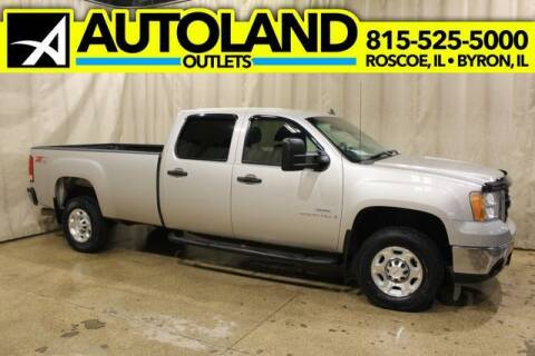 2009 GMC Sierra 2500HD for sale at AutoLand Outlets Inc in Roscoe IL
