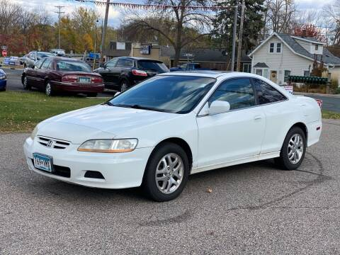 2002 Honda Accord for sale at Tonka Auto & Truck in Mound MN