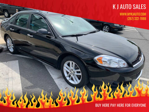 2014 Chevrolet Impala Limited for sale at K J AUTO SALES in Philadelphia PA