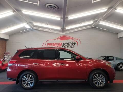 2014 Nissan Pathfinder for sale at Premium Motors in Villa Park IL