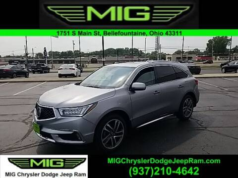 2017 Acura MDX for sale at MIG Chrysler Dodge Jeep Ram in Bellefontaine OH