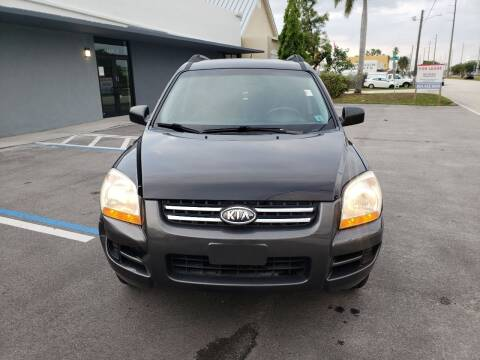 2007 Kia Sportage for sale at UNITED AUTO BROKERS in Hollywood FL
