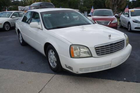 2005 Cadillac DeVille for sale at J Linn Motors in Clearwater FL