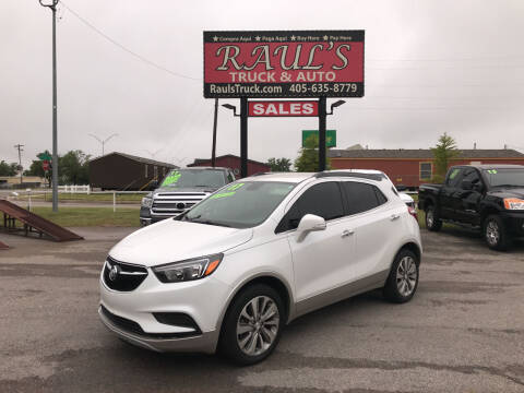 2017 Buick Encore for sale at RAUL'S TRUCK & AUTO SALES, INC in Oklahoma City OK