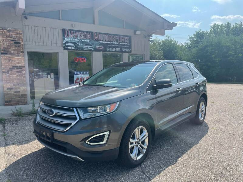 2016 Ford Edge for sale at Davison Motorsports in Holly MI