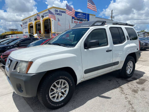 2014 Nissan Xterra for sale at INTERNATIONAL AUTO BROKERS INC in Hollywood FL