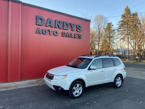 2010 Subaru Forester for sale at Dandy's Auto Sales in Forest Lake MN