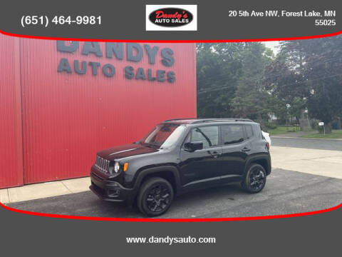 2018 Jeep Renegade for sale at Dandy's Auto Sales in Forest Lake MN