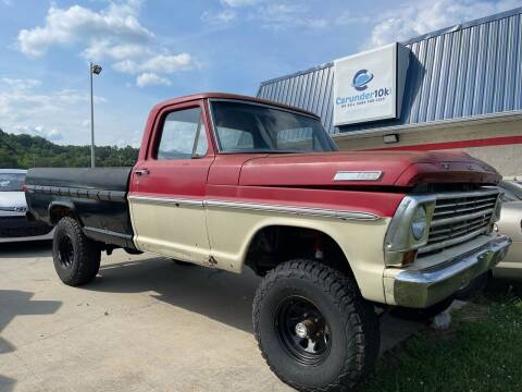 1968 Ford F-100 for sale at CarUnder10k in Dayton TN