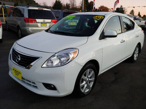 2012 Nissan Versa for sale at KENT GRAND AUTO SALES LLC in Kent WA