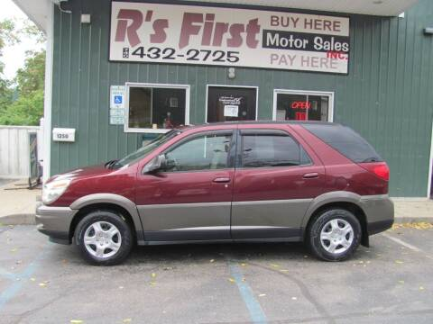 2004 Buick Rendezvous for sale at R's First Motor Sales Inc in Cambridge OH